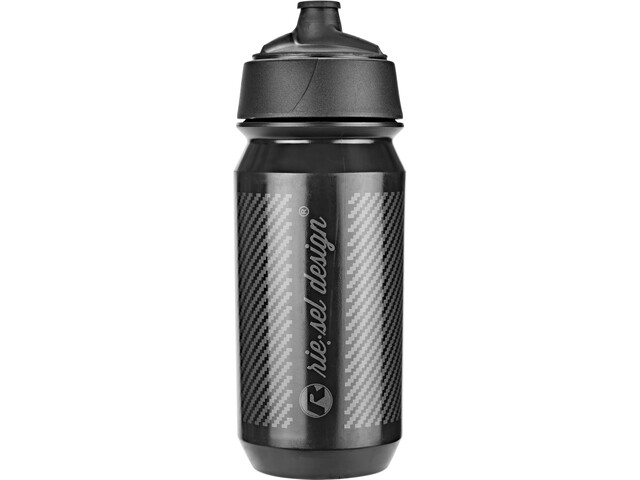 rie:sel design bot:tle 500ml, carbon | black